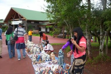 Puesto de artesanias Pque Nac. Iguazú
