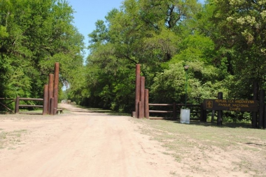 Entrada al Parque Nacional Chaco