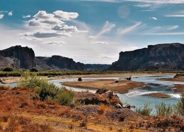Valle Paso de Indios. Foto de Turismo de Paso de Indios