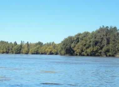Río Negro en Mainqué