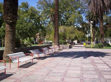 Plaza Aberastain de ciudad de San Juan. Foto de EagLau