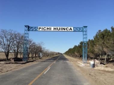 Acceso a Pichi Huinca