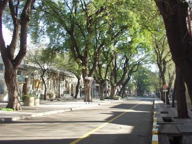 Ciudad de Mendoza. Calle Mitre