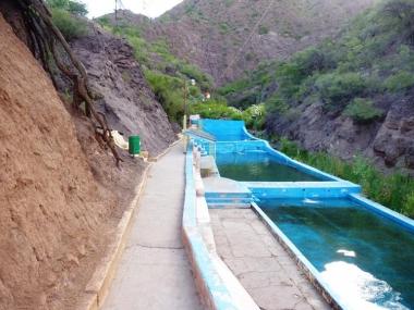 Complejo Termal La Aguadita. Foto de Juan José López