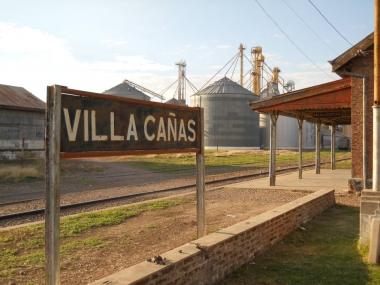 Estación de Villa Cañas. Foto de villacan.com.ar