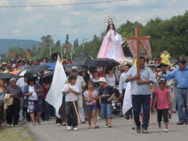 Fiesta en honor de la Virgen de la Candelaria