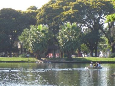 Lago Parque 9 de Julio