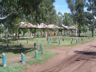 Laguna del Indio Muerto. Camping