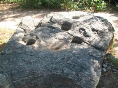 morteros. Foto de Turismo San Marcos