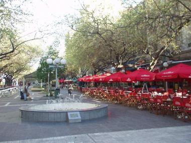 Peatonal Sarmiento. Mendoza