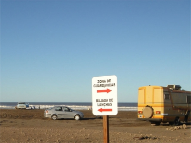 playa del Balneario La Chiquita