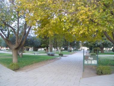 Plaza San Martín de Miguel Riglos. Foto de Maru66
