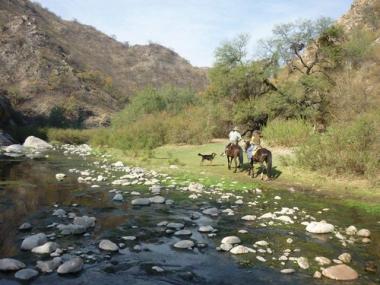 Quebrada de San Marcos. Foto de Turismo San Marcos Sierra