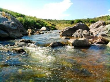 Río Conlara en Paso Grande