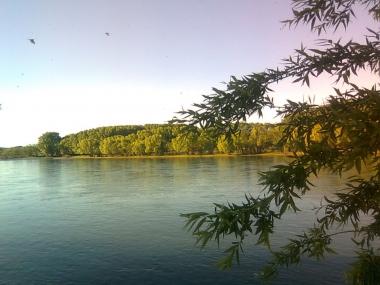 Río Limay. Foto de Carlos Villavicencio