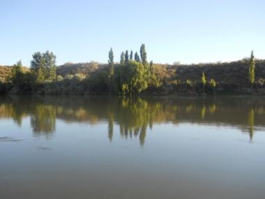 río Negro junto a Belisle