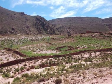 Tabladitas. Camino a Potrero de la Puna. Foto de Luis Zerpa