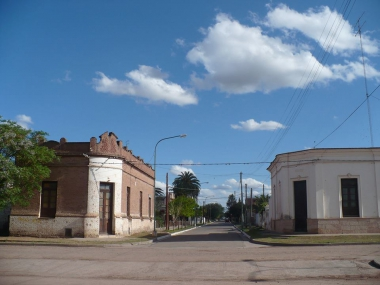 Viejas casonas en Las Peñas