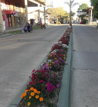 Calle principal de Federación