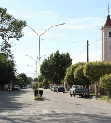 calle principal de Berrotarán