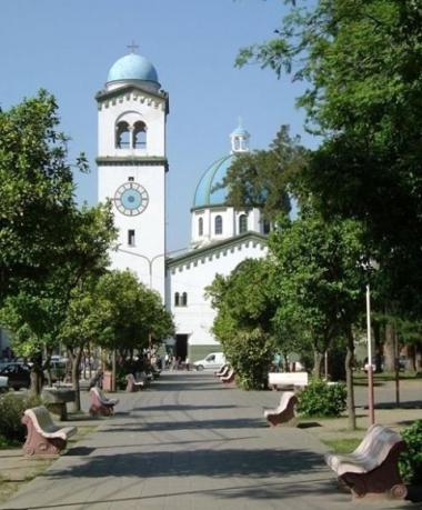 Monteros. Plaza Principal e Iglesia Nuestra Señora del Rosario