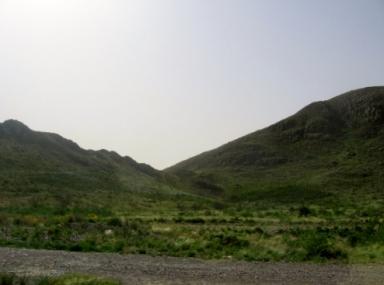 Sierras en el Parque Nacional Lihué Calel