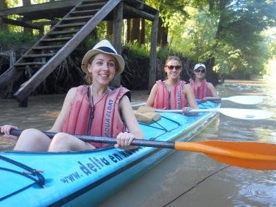 Delta en Kayak 1