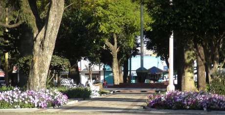 Plaza General San Martín. San Justo
