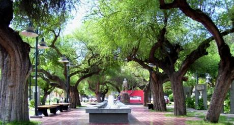Plaza de Luján de Cuyo
