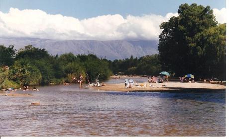 Río Panaholma en Cura Brochero