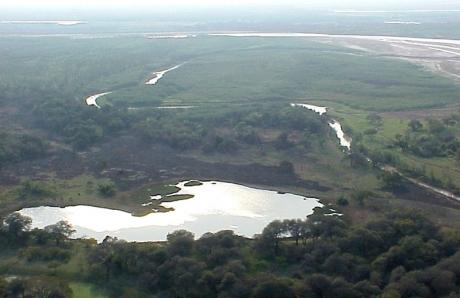 Confluencia del río Teuco con el río Bermejito