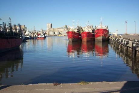 Puerto de Ingeniero White.Bahía Blanca.