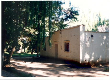 Casa de adobe en Barreal