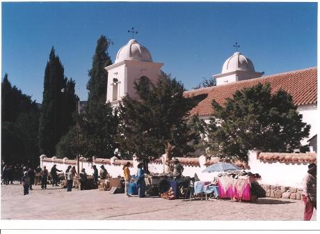 Humahuaca. Plaza