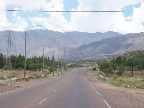 Ruta 82 en Blanco Encalada