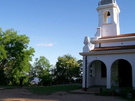 Iglesia en Isla del Cerrito