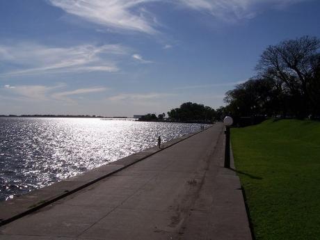 Laguna de Chascomús desde La Bajadita