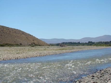 río Agrio desde visto desde el Camping Municipal