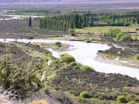 río Chico en Gobernador Gregores