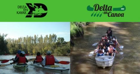 Delta en Kayak / Delta en Canoa