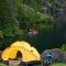 Lago Steffen. Camping Agreste Viejo Manzano