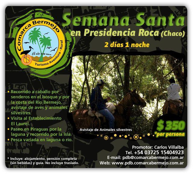 Semana Santa en Presidencia Roca (Chaco)